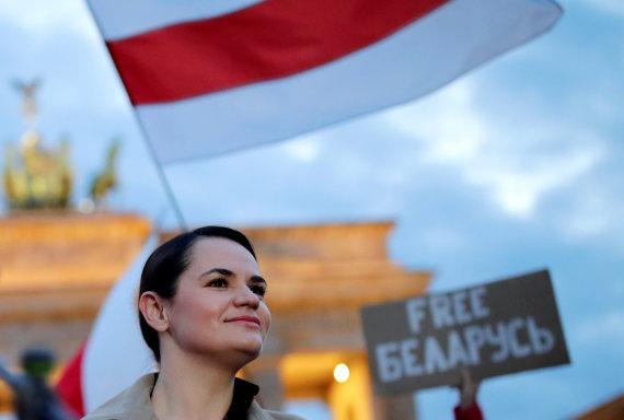 """Reuters""/""Scanpix"" nuotr./Sviatlana Cichanouskaja Berlyne"
