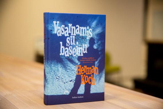 """Juliaus Kalinsko / 15min nuotr./Hermano Kocho romanas """"Vasarnamis su baseinu"""""""