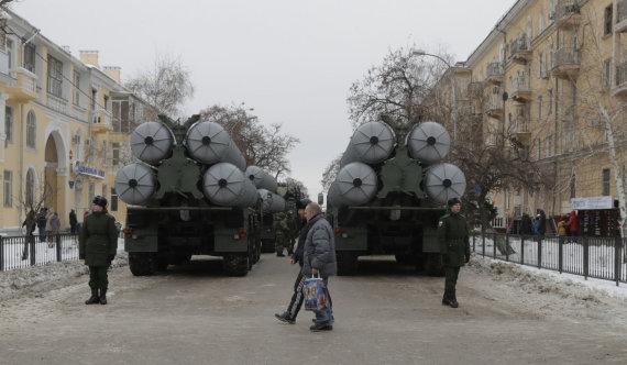 """Reuters""/""Scanpix"" nuotr./S-400 oro gynybos sistema"
