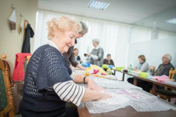 """Akvilės Balsytės nuotr./K.Račkauskaitė: projekte """"Susitikim, mieli senjorai"""" grąžinu dėkingumo skolą"""