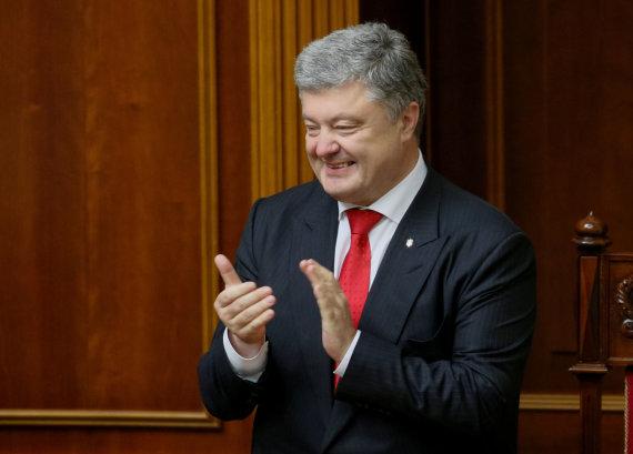 """""""Reuters""""/""""Scanpix"""" nuotr./Petro Porošenka"""