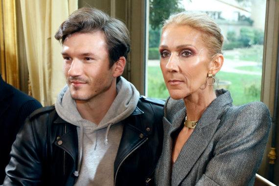 "AFP/""Scanpix"" nuotr./Celine Dion ir Pepe Munozas"