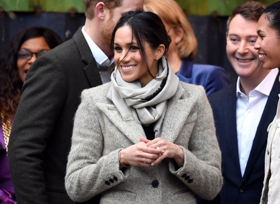 """Scanpix""/""PA Wire""/""Press Association Images"" nuotr./Meghan Markle"