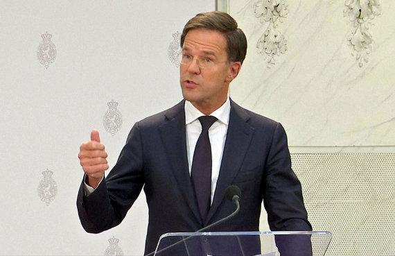 """Reuters""/""Scanpix"" nuotr./Nyderlandų premjeras Markas Rutte"