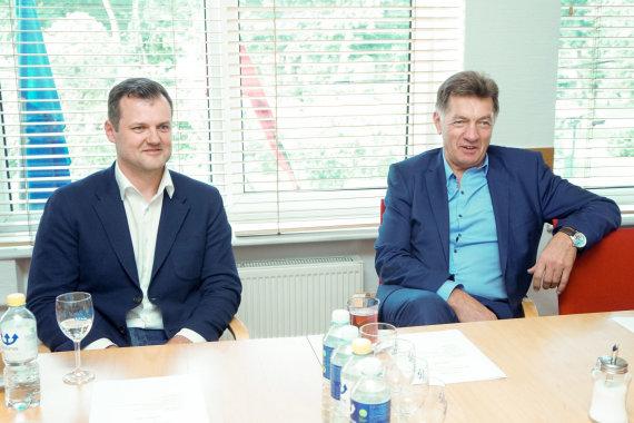 Žygimanto Gedvilos / 15min nuotr./Gintautas Paluckas ir Algirdas Butkevičius