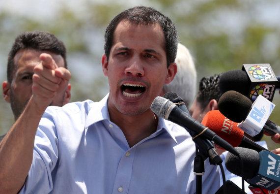 """Reuters""/""Scanpix"" nuotr./Juanas Guaido"