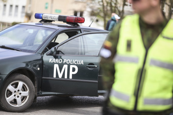 Ievos Budzeikaites asociatyvi nuotr/Karo policija