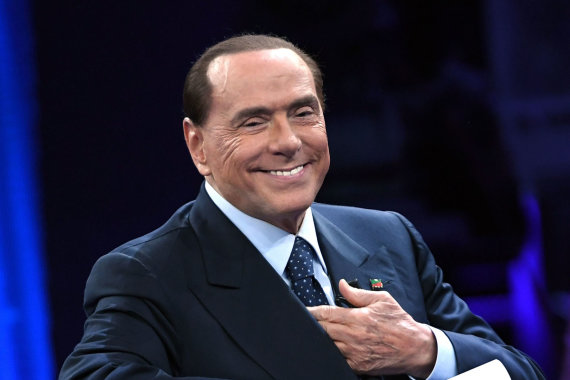 """Scanpix""/""SIPA"" nuotr./Silvio Berlusconi"