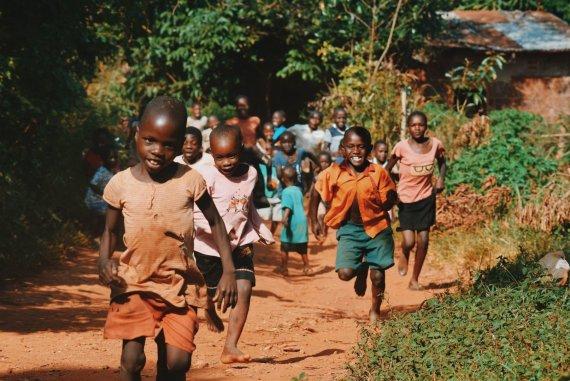 Unsplash.com nuotr./Afrikos vaikai