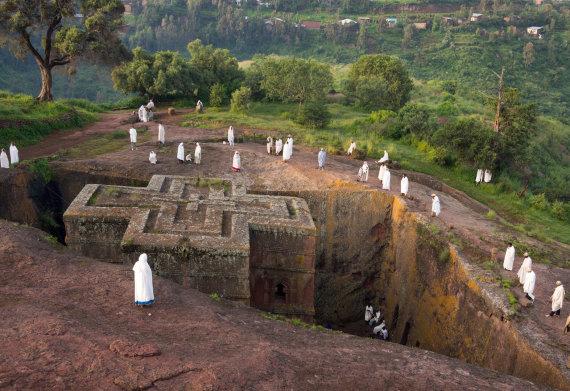 Vienoje iš Etiopijos šventyklų