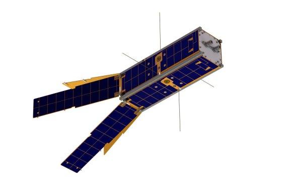 """""""LituanicaSAT-2"""" nuotr./Taip turėtų atrodyti sukonstruotas """"LituanicaSAT-2"""""""