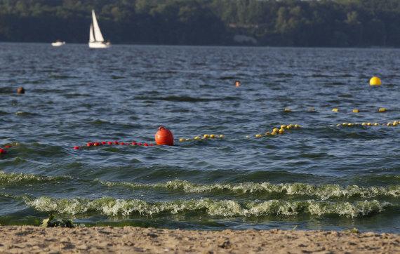 """""""Scanpix""""/AP nuotr./Žydintis vanduo Lenkijoje"""
