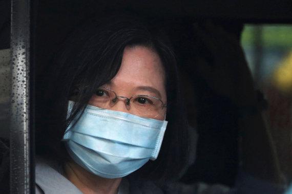"""""""Scanpix""""/AP nuotr./Taivano prezidentė Tsai Ing-wen"""