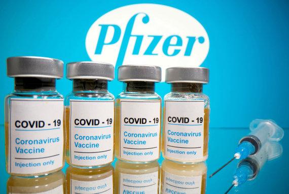 """Reuters""/""Scanpix"" nuotr./""Pfizer"" vakcina nuo koronaviruso"