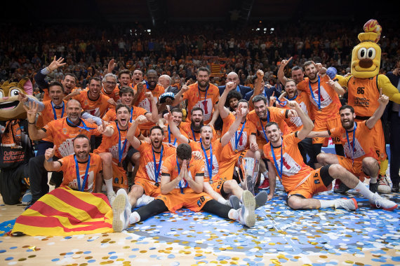 "Euroleague.net nuotr./""Valencia"" laimėjo Europos taurę"
