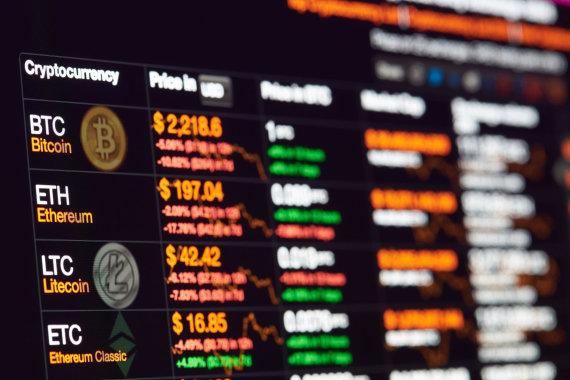 123RF.com nuotr./Kriptografinės valiutos