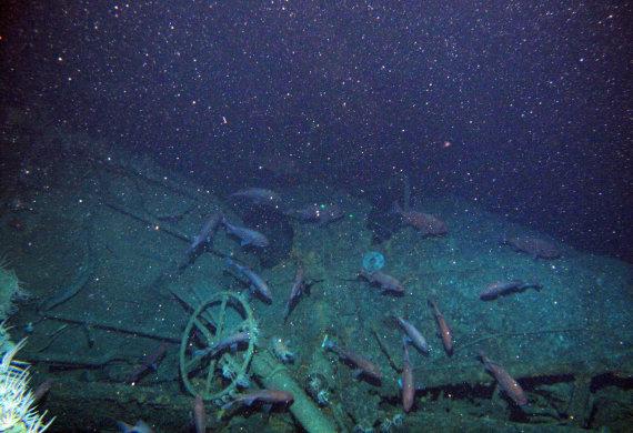 """""""Scanpix""""/AP nuotr./Prie Australijos radus nuskendusį povandeninį laivą išaiškinta viena iš Pirmojo pasaulinio karo mįslių"""