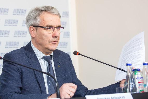 Luko Balandžio / 15min nuotr./Lietuvos darbdaviu konfederacijos generalinis direktorius Danukas Arlauskas