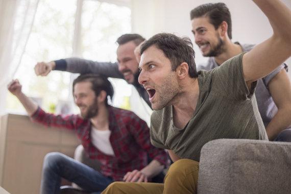 123RF.com nuotr./Vyrų emocijos