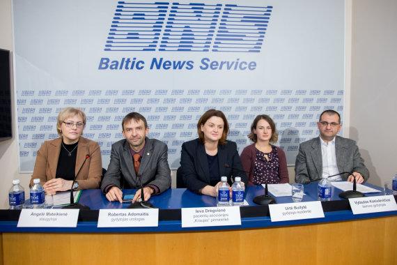 Žygimanto Gedvilos / 15min nuotr./Lietuvos medikų sąjūdžio spaudos konferencija
