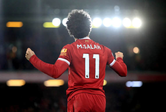 """Scanpix""/""PA Wire""/""Press Association Images"" nuotr./Mohamedas Salah įmušė dukart"