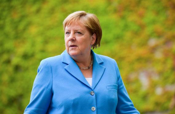 "AFP/""Scanpix"" nuotr./Angela Merkel baigė atostogas"