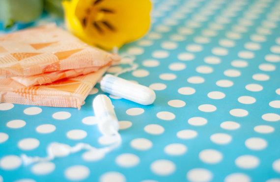 123RF.com nuotr./Moterų higienos priemonės