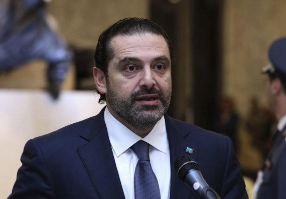 """Scanpix""/AP nuotr./Saadas Hariri"