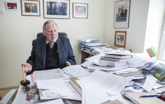 Luko Balandžio/15min.lt nuotr./Vytautas Landsbergis