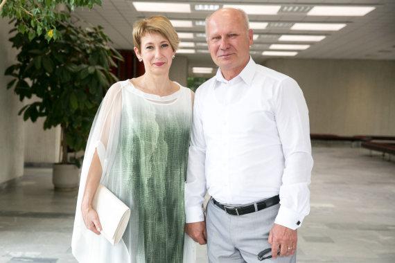 Juliaus Kalinsko / 15min nuotr./Algirdas Šešelgis ir Daina Narvilienė