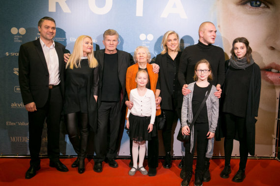 Juliaus Kalinsko / 15min nuotr./Rūtos Meilutytės šeima