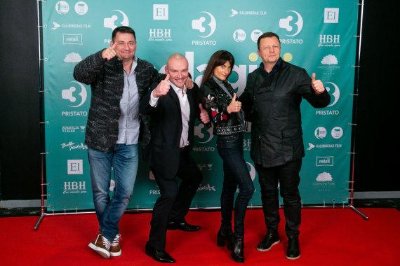Žygimanto Gedvilos / 15min nuotr./Ramūnas Vyšniauskas (antras iš kairės), Gediminas Juodeika (dešinėje)