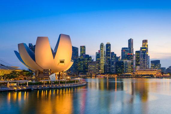 Shutterstock.com nuotr./Mokslo ir meno muziejus, Singapūras