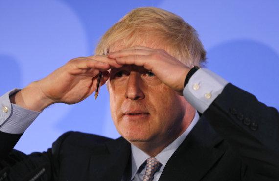 """""""Scanpix""""/AP nuotr./Borisas Johnsonas"""