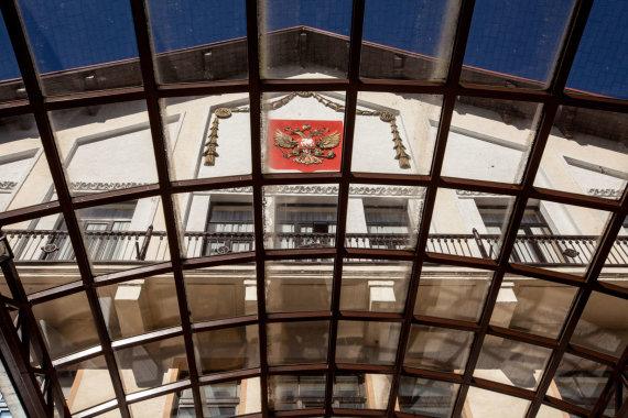 Vidmanto Balkūno / 15min nuotr./Rusijos ambasada