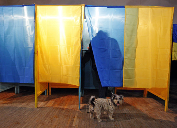 "AFP/""Scanpix"" nuotr./Rinkimai Ukrainoje"