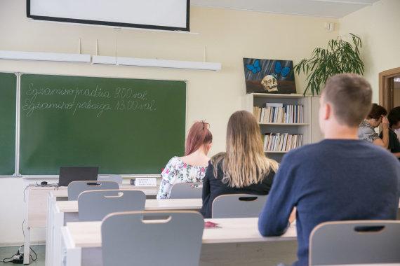 Josvydo Elinsko / 15min nuotr./Lietuvių kalbos ir literatūros brandos egzaminas