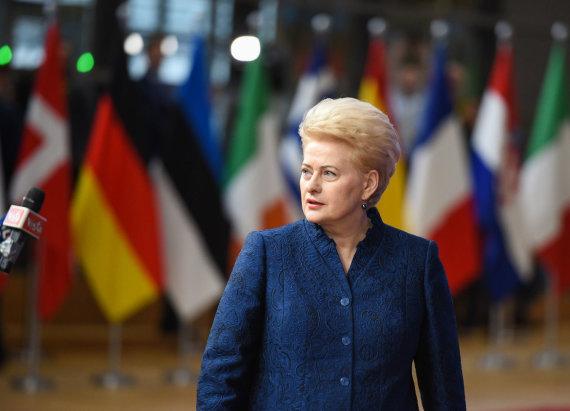 LR Prezidento kanceliarijos/R.Dačkaus nuotr./Dalia Grybauskaitė