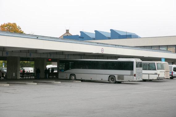 Juliaus Kalinsko / 15min nuotr./Vilniaus autobusu stotis