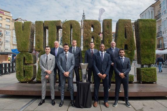 Getty Images/Euroleague.net nuotr./Eurolygos finalo ketvertas pristatytas Vitorijoje