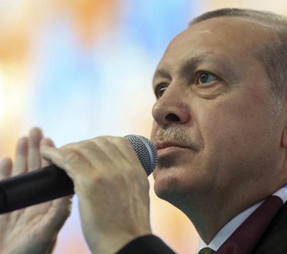 """Scanpix"" / AP nuotr. / Recepas Tayyipas Erdoganas"