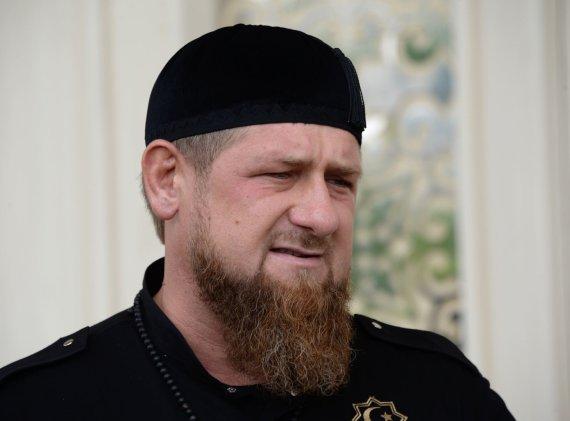 """Sputnik""/""Scanpix"" nuotr./Čečėnijos lyderis Ramzanas Kadyrovas"