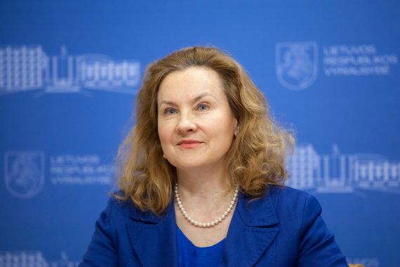 Sauliaus Žiūros nuotr./Vilniaus miesto savivaldybės administracijos direktorė Alma Vaitkunskienė