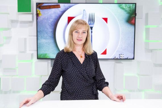 Luko Balandžio / 15min nuotr./15min studijoje – gydytoja dietologė Edita Gavelienė