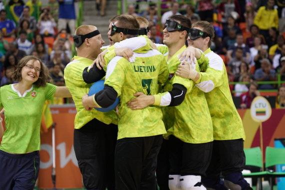 Rimanto Navicko/RGB pictures nuotr./Lietuva – paralimpinių žaidynių Brazilijoje čempionė.