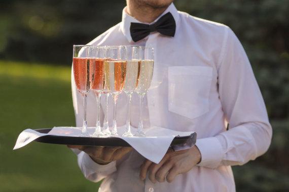 Vida Press nuotr./Šampanas