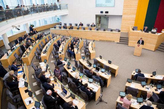 Juliaus Kalinsko / 15min nuotr./Seime pristatytas 2018 metų valstybės biudžetas