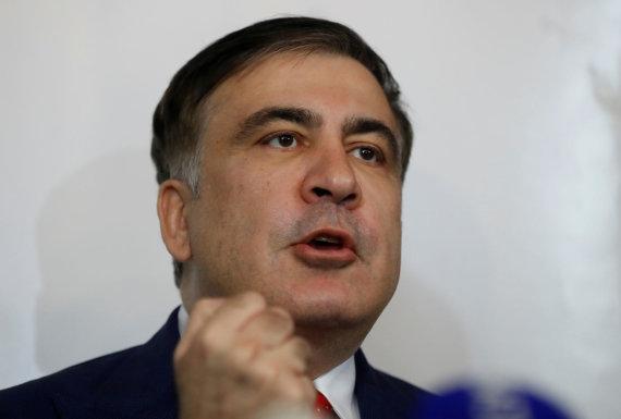 """Scanpix""/AP nuotr./Michailas Saakašvilis"