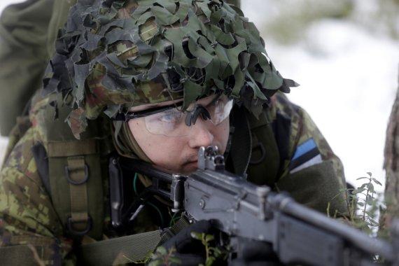 """""""Reuters""""/""""Scanpix"""" nuotr./Estijos kariuomenė"""
