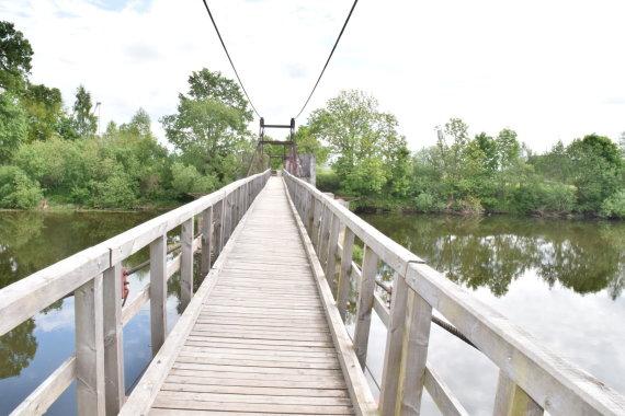 Klaipėdos rajono sav. nuotr./Lankupių tiltas